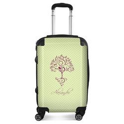 Yoga Tree Suitcase (Personalized)