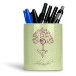 Yoga Tree Ceramic Pen Holder