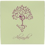 Yoga Tree Ceramic Tile Hot Pad (Personalized)