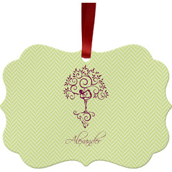 Yoga Tree Ornament (Personalized)