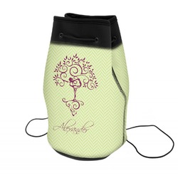 Yoga Tree Neoprene Drawstring Backpack (Personalized)
