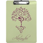 Yoga Tree Clipboard (Personalized)