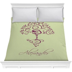 Yoga Tree Comforter (Personalized)