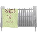 Yoga Tree Crib Comforter / Quilt (Personalized)