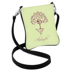 Yoga Tree Cross Body Bag - 2 Sizes (Personalized)