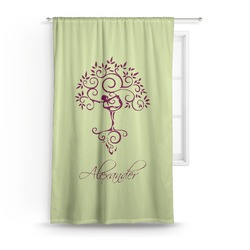 Yoga Tree Curtain (Personalized)