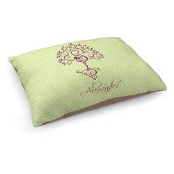 Yoga Tree Dog Pillow Bed (Personalized)