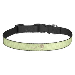 Yoga Tree Dog Collar - Multiple Sizes (Personalized)