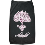 Yoga Tree Black Pet Shirt (Personalized)