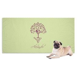 Yoga Tree Pet Towel (Personalized)