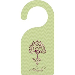 Yoga Tree Door Hanger (Personalized)