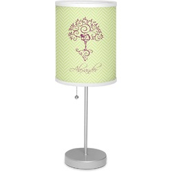 """Yoga Tree 7"""" Drum Lamp with Shade (Personalized)"""