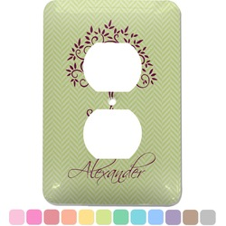 Yoga Tree Electric Outlet Plate (Personalized)