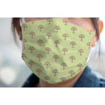Yoga Tree Face Mask Cover (Personalized)