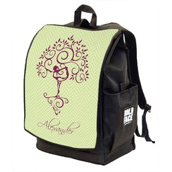 Yoga Tree Backpack w/ Front Flap  (Personalized)