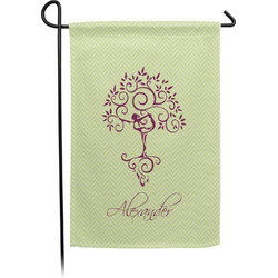 Yoga Tree Garden Flag - Single or Double Sided (Personalized)
