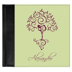 Yoga Tree Genuine Leather Baby Memory Book (Personalized)