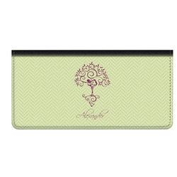 Yoga Tree Genuine Leather Checkbook Cover (Personalized)