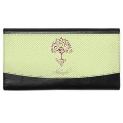 Yoga Tree Genuine Leather Ladies Wallet (Personalized)