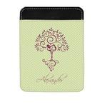 Yoga Tree Genuine Leather Money Clip (Personalized)
