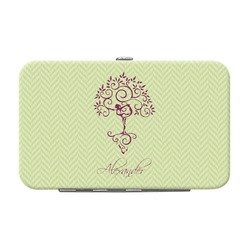 Yoga Tree Genuine Leather Small Framed Wallet (Personalized)