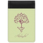 Yoga Tree Genuine Leather Small Memo Pad (Personalized)