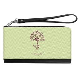 Yoga Tree Genuine Leather Smartphone Wrist Wallet (Personalized)
