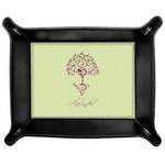 Yoga Tree Genuine Leather Valet Tray (Personalized)