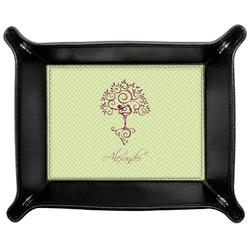 Yoga Tree Genuine Leather Valet Tray (Personalized)