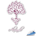 Yoga Tree Graphic Iron On Transfer (Personalized)