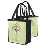 Yoga Tree Grocery Bag (Personalized)