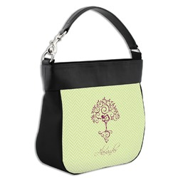 Yoga Tree Hobo Purse w/ Genuine Leather Trim (Personalized)