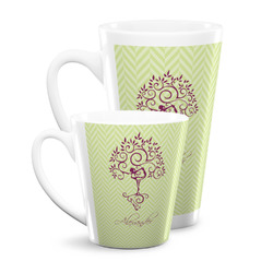Yoga Tree Latte Mug (Personalized)