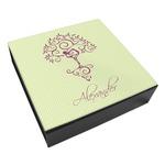 Yoga Tree Leatherette Keepsake Box - 3 Sizes (Personalized)