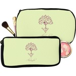 Yoga Tree Makeup / Cosmetic Bag (Personalized)