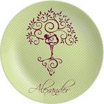 Yoga Tree Melamine Plate (Personalized)