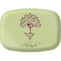 Yoga Tree Melamine Platter (Personalized)