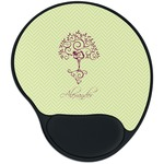Yoga Tree Mouse Pad with Wrist Support