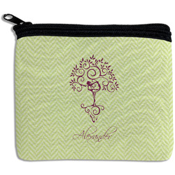 Yoga Tree Rectangular Coin Purse (Personalized)