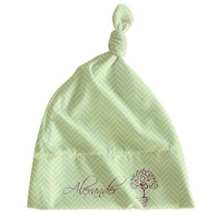 Yoga Tree Newborn Hat - Knotted (Personalized)