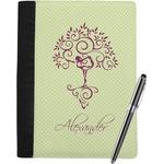 Yoga Tree Notebook Padfolio (Personalized)