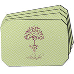 Yoga Tree Dining Table Mat - Octagon w/ Name or Text