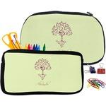 Yoga Tree Pencil / School Supplies Bag (Personalized)
