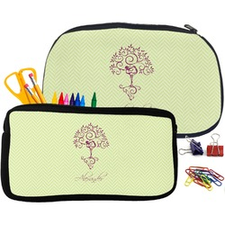 Yoga Tree Pencil / School Supplies Bag (Personalized)