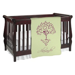 Yoga Tree Baby Blanket (Personalized)