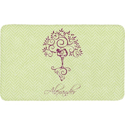 Yoga Tree Bath Mat (Personalized)