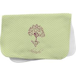 Yoga Tree Burp Cloth (Personalized)