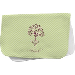 Yoga Tree Burp Cloth (Personalized)