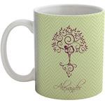 Yoga Tree Coffee Mug (Personalized)
