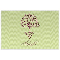 Yoga Tree Placemat (Laminated) (Personalized)